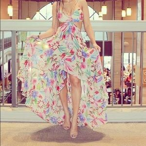 Hot Miami style floral dress